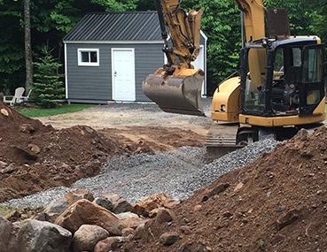 installation septique et sanitaire coflo enviro septic services nord action excavation. Black Bedroom Furniture Sets. Home Design Ideas